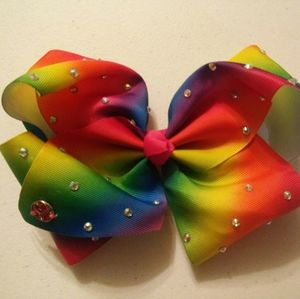 Nwot Jojo Siwa Rainbow Sequin Bow